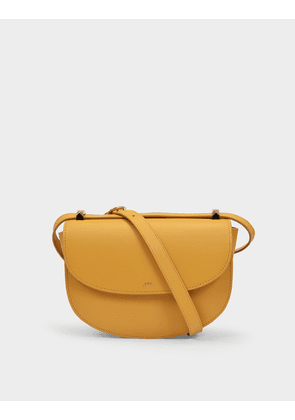 Geneve Bags in Yellow Saffiano Leather
