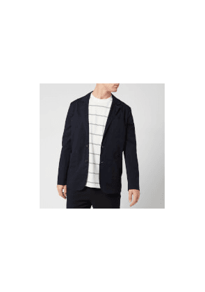 KENZO Men's Casual Two Button Jacket - Navy Blue - 46/S