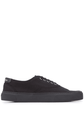 Saint Laurent low-top lace-up sneakers - Black