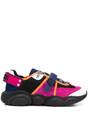 Moschino Teddy skate sneakers - PINK