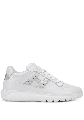 Hogan Interactive embellished sneakers - White