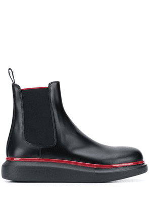 Alexander McQueen chunky sole Chelsea boots - Black