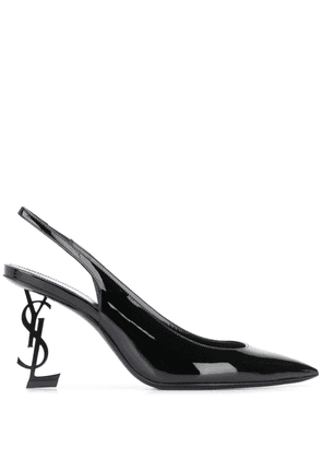 Saint Laurent Opium slingback 85mm pumps - Black