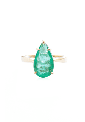 Sharon Khazzam One of a Kind Emerald Pito Ring