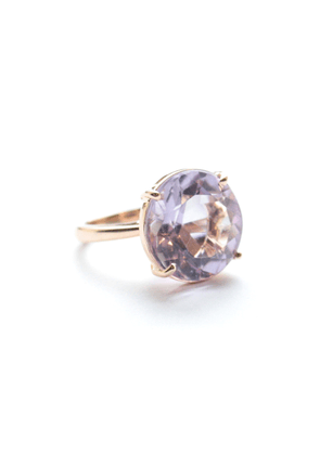 Sharon Khazzam One of a Kind Amethyst Pito Ring
