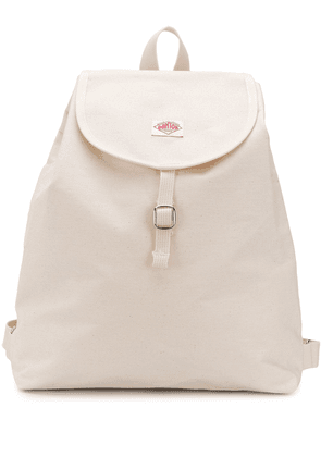 Danton logo patch backpack - NEUTRALS
