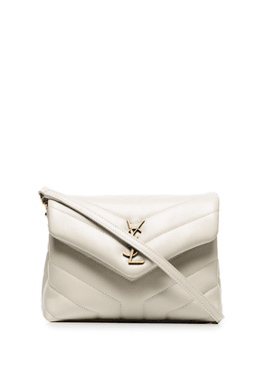 Saint Laurent cream Toy Loulou leather mini bag - White