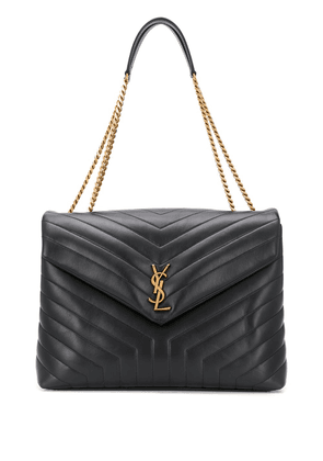Saint Laurent Large Lou Lou chain bag - Black