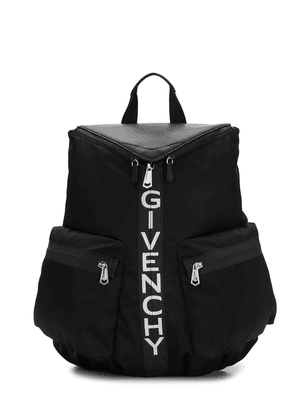 Givenchy logo print backpack - Black