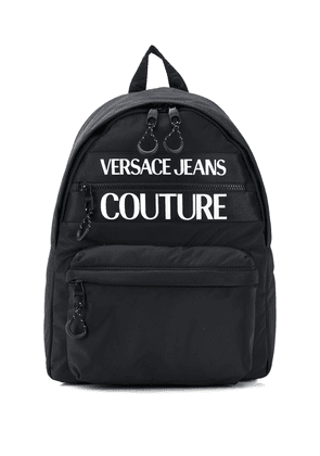 Versace Jeans Couture branded backpack - Black