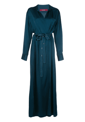 Sies Marjan Aviva wrap-front dress - Blue