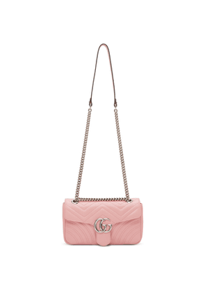 Gucci Pink Small GG Marmont 2.0 Shoulder Bag