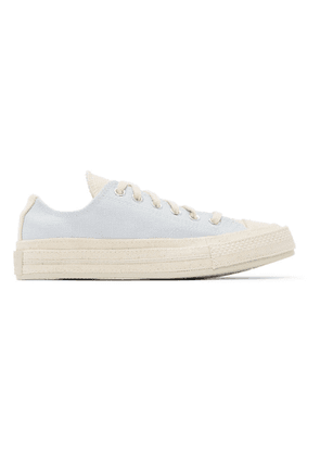Converse Pink and Blue Renew Cotton Chuck 70 Ox Sneakers