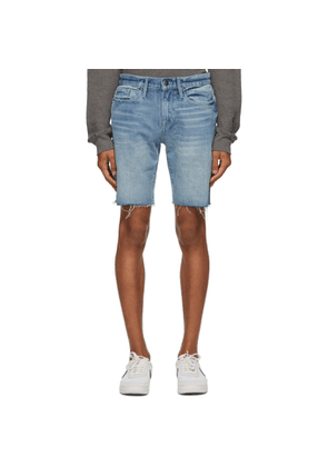 Frame Blue LHomme Relaxed Cut-Off Shorts