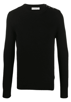 Givenchy 4G buttons cashmere jumper - Black
