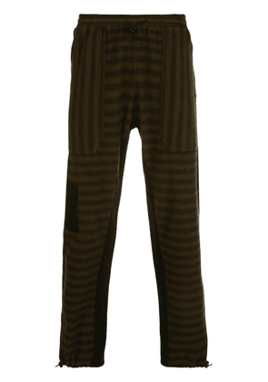 Phipps striped track trousers - Brown