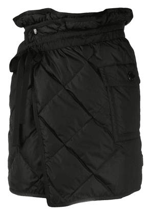 Moncler quilted skirt - Black