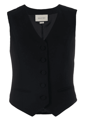 Gucci single-breasted waistcoat - Black