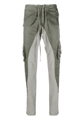 Greg Lauren Slim-Fit Lounge trousers - Green