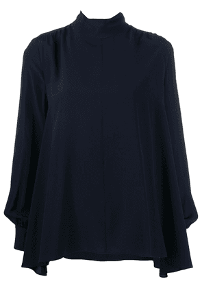 Prada bow detail blouse - Blue