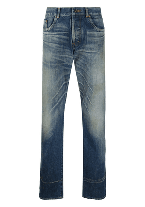 Saint Laurent straight cut jeans - Blue