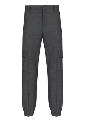 Neil Barrett tailored cargo trousers - Grey