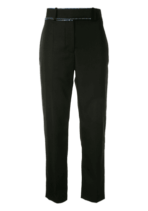 Haider Ackermann embellished waistband trousers - Black