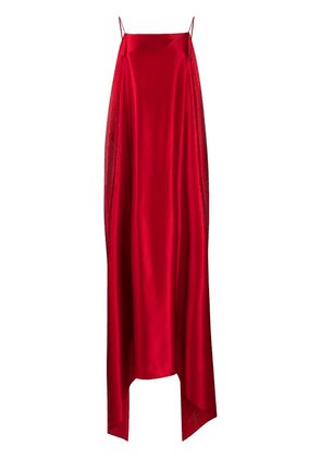 Bernadette high-low maxi dress - Red