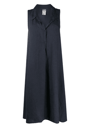 Kristensen Du Nord sleeveless shirt dress - Blue