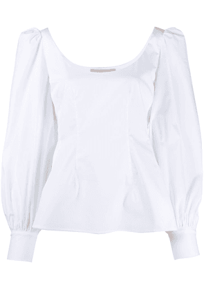 Brock Collection puff sleeve blouse - White