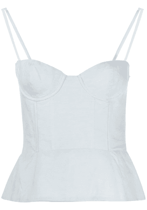 Brock Collection bustier style top - Blue