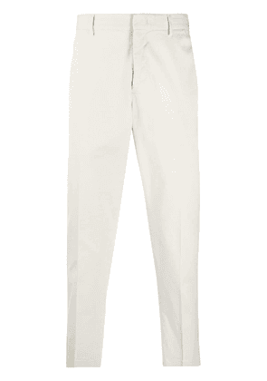 Pt01 slim-fit chino trousers - NEUTRALS