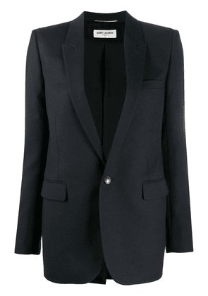Saint Laurent single-breasted blazer - Blue
