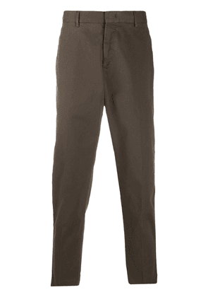 Pt01 tapered chino trousers - Brown