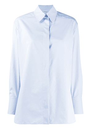 Givenchy concealed front fastening shirt - Blue