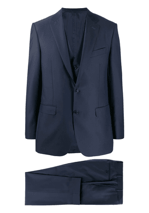 Canali long sleeves suit - Blue
