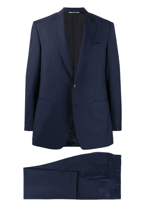 Canali pinstriped two-piece - Blue