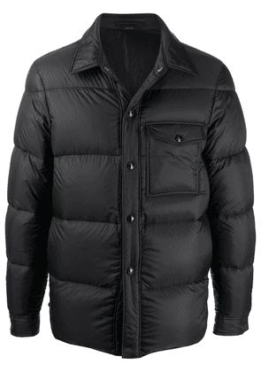 Tom Ford button-up padded jacket - Black