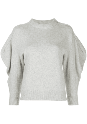 Proenza Schouler draped sleeve jumper - Grey