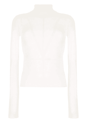 Altuzarra panel-embellished knitted top - White