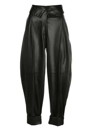 Proenza Schouler high-waisted cropped trousers - Black