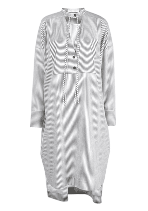 Proenza Schouler White Label stripe pattern kaftan dress