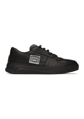 Acne Studios Black Perey Lace Up Sneakers