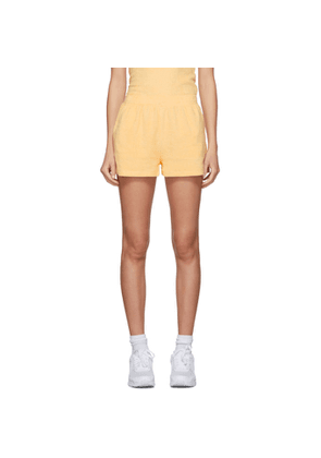 Gil Rodriguez SSENSE Exclusive Yellow Terry Port Shorts