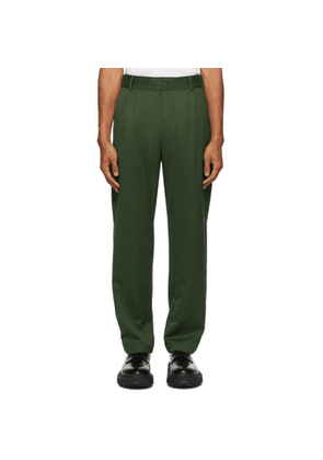Han Kjobenhavn Green Tapered Trousers