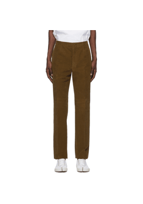 Maison Margiela Brown Corduroy Chinos