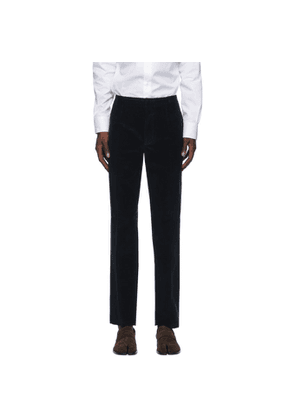 Maison Margiela Navy Corduroy Chino Trousers