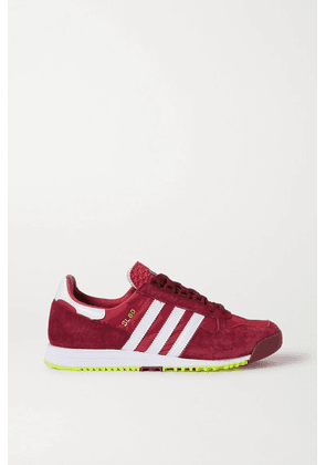 adidas Originals - Sl 80 Suede, Leather And Nylon Sneakers - Red