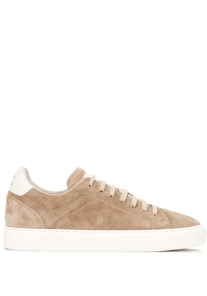 Brunello Cucinelli low-top lace-up sneakers - NEUTRALS