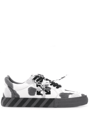 Off-White camouflage print low-top sneakers - Grey